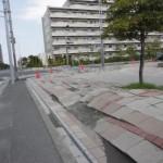 浦安液状化道路
