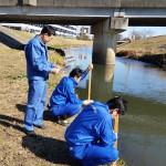 20170215大堀川放射線測定